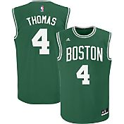 adidas Youth Boston Celtics Isaiah Thomas #4 Road Kelly Green Replica Jersey