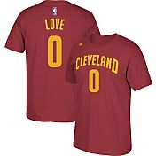 adidas Youth Cleveland Cavaliers Kevin Love #0 Burgundy Performance T-Shirt