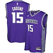 adidas Youth Sacramento Kings DeMarcus Cousins #15 Alternate Purple Replica Jersey
