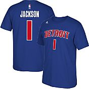 adidas Youth Detroit Pistons Reggie Jackson #1 Royal T-Shirt