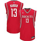 adidas Youth Houston Rockets James Harden #13 Road Red Replica Jersey
