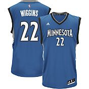 adidas Youth Minnesota Timberwolves Andrew Wiggins #22 Road Blue Replica Jersey