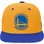 adidas Youth Golden State Warriors Gold Adjustable Snapback Hat