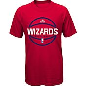 adidas Youth Washington Wizards climalite Red T-Shirt