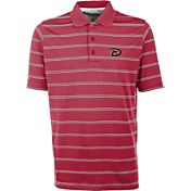 Antigua Men's Arizona Diamondbacks Deluxe Red Striped Performance Polo