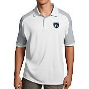 Antigua Men's Sporting KC Century White Polo