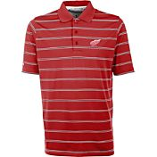 Antigua Men's Detroit Red Wings Deluxe Red Polo