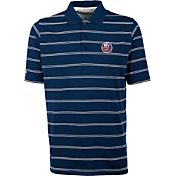 Antigua Men's New York Islanders Deluxe Royal Polo