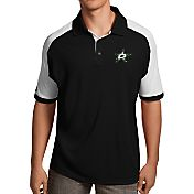 Antigua Men's Dallas Stars Black/White Century Polo