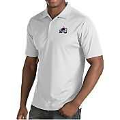 Antigua Men's Colorado Avalanche Inspire White Polo