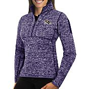 Antigua Women's Baltimore Ravens Fortune Purple Pullover Jacket