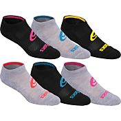 ASICS Women's Invasion No Show Socks 6 Pack