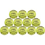 ATEC 12' Hi.Per Pro Leather Training Fastpitch Softballs - 12 Pack