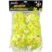 Baden 12' Big-Leaguer Practice Softballs - 6 Pack