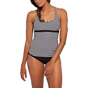 CALIA by Carrie Underwood Women's Printed Strappy Tankini Top