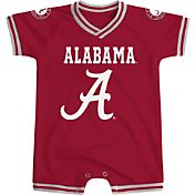Colosseum Athletics Infant Alabama Crimson Tide Crimson Super Fan II Onesie
