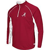 Colosseum Athletics Men's Alabama Crimson Tide Crimson Airstream Quarter-Zip Windshirt