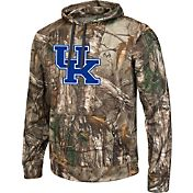 Colosseum Athletics Men's Kentucky Wildcats Camo Breech Pullover Hoodie