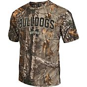 Colosseum Athletics Men's Mississippi State Bulldogs Camo Brow Tine T-Shirt