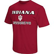 Colosseum Athletics Men's Indiana Hoosiers Crimson Matrix T-Shirt
