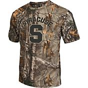 Colosseum Athletics Men's Syracuse Orange Camo Brow Tine T-Shirt