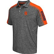 Chiliwear Men's Syracuse Orange Grey Birdie Polo