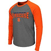 Colosseum Men's Syracuse Orange Grey Olympus Long Sleeve Shirt