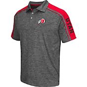 Chiliwear Men's Utah Utes Grey Birdie Polo