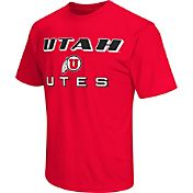 Colosseum Athletics Men's Utah Utes Crimson Matrix T-Shirt