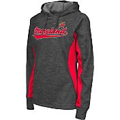 Colosseum Athletics Women's Maryland Terrapins Grey Performance Hoodie