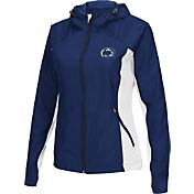 Colosseum Athletics Women's Penn State Nittany Lions Blue/White Step Out Windbreaker
