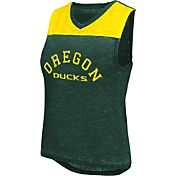 Colosseum Athletics Women's Oregon Ducks Green Kiss Cam Tank