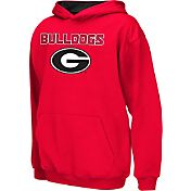 Colosseum Athletics Boys' Georgia Bulldogs Red Poly Fleece Hoodie