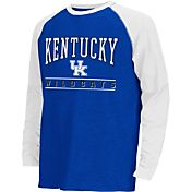 Colosseum Athletics Youth Kentucky Wildcats Blue Krypton Long Sleeve Shirt