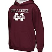 Colosseum Athletics Boys' Mississippi State Bulldogs Maroon Poly Fleece Hoodie