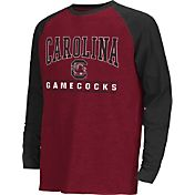 Colosseum Athletics Youth South Carolina Gamecocks Garnet Krypton Long Sleeve Shirt