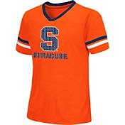 Colosseum Athletics Girls' Syracuse Orange Blue Titanium T-Shirt