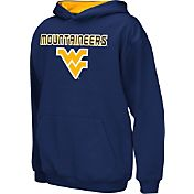 Colosseum Athletics Boys' West Virginia Mountaineers Blue Poly Fleece Hoodie