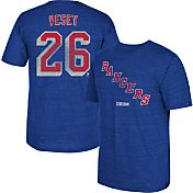 CCM Men's New York Rangers Jimmy Vesey #26 Vintage Replica Royal Player T-Shirt