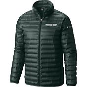 Columbia Men's Michigan State Spartans Green Forward Down Jacket