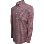 Campus Specialties Men's Michigan State Spartans Checkered Woven Shirt