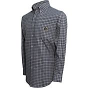 Campus Specialties Men's Vanderbilt Commodores Multi-Checkered Woven Long Sleeve Shirt