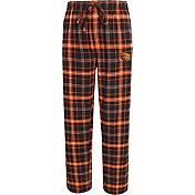 Concepts Sport Men's Oregon State Beavers Black/Orange Ultimate Plaid Sleep Pants