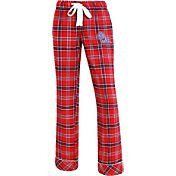 Concepts Sport Women's Ole Miss Rebels Red/Blue Captivate Plaid Sleep Pants