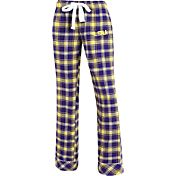 Concepts Sport Women's LSU Tigers Purple/Gold Captivate Plaid Sleep Pants