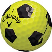Callaway Chrome Soft Truvis Yellow Golf Balls