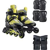 DBX Boys' Equinox Adjustable Inline Skate Package 2014