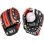 DICK'S Sporting Goods Backyard T-Ball Glove & Ball