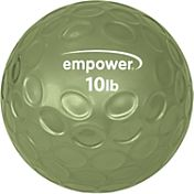 empower 10 lb Comfort Grip Medicine Ball with DVD
