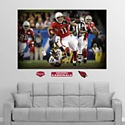 "Fathead Larry Fitzgerald ""In Your Face"" Super Bowl Wall Graphic"